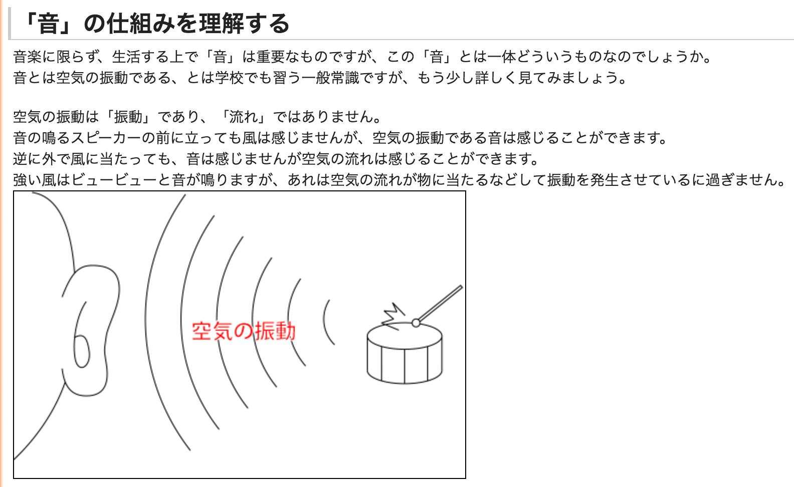 音の仕組み