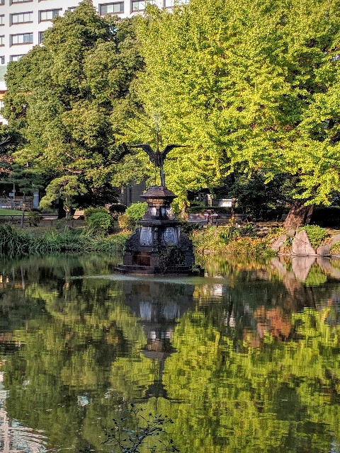 日比谷公園の紅葉3