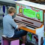 スウェーデンでピアノ