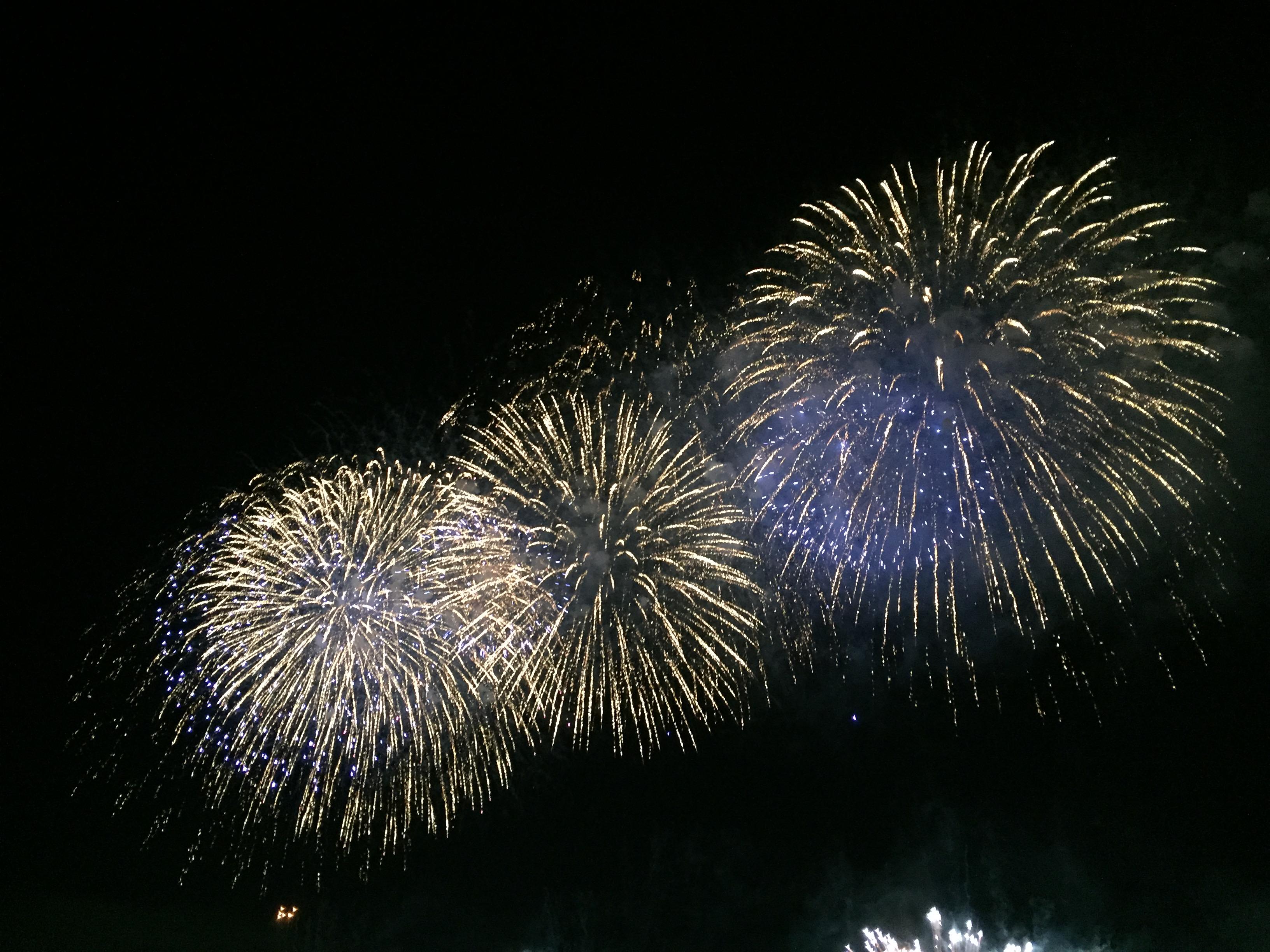 2016年足立の花火