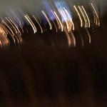 夜の明かりピンボケ