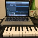 KORG MIDI keyboard
